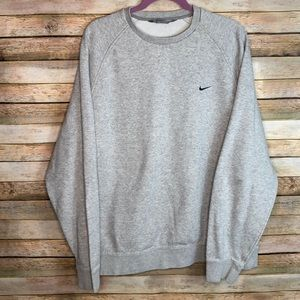 Nike Vintage Gray Crewneck Sweatshirt